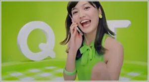 QTmobile CM 女優