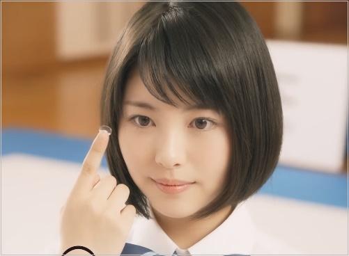 メニコン CM かわいい 女優